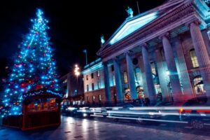 O'Connell Street Christmas Lights Switch On