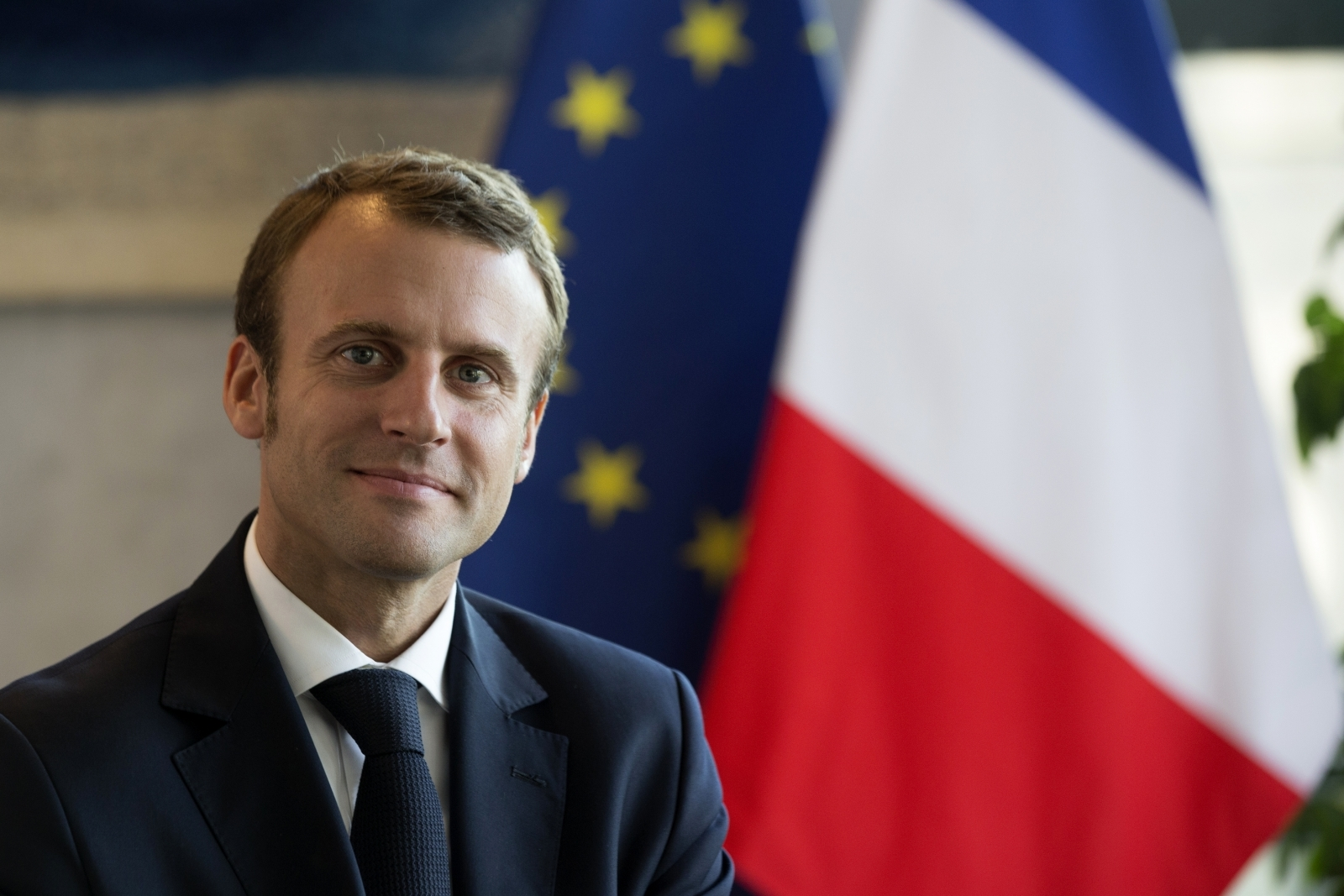 Macron New French President Will Fight Forces Of Division