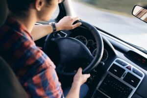 How to get a driving license in Ireland, man driving car