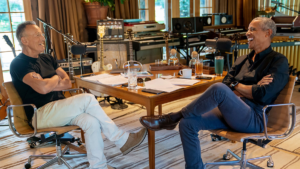 Springsteen s Podcast with Obama about Early Musical Memories banner
